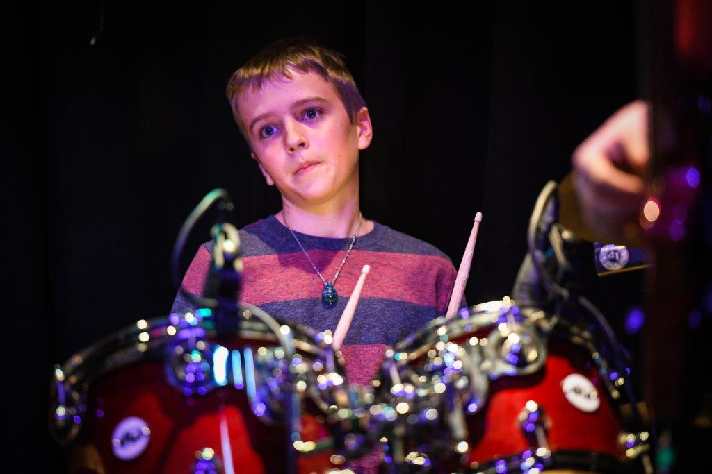 Boy Playing The Drums | The Lesson Studio